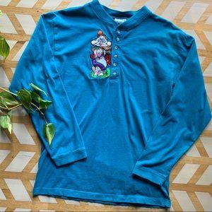 VTG | Disney Dwarf Teal Long Sleeve